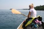 Bonnie canoe 1