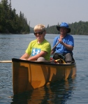 Dan and Nathan Canoe2