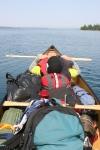 Daniel canoe reclining