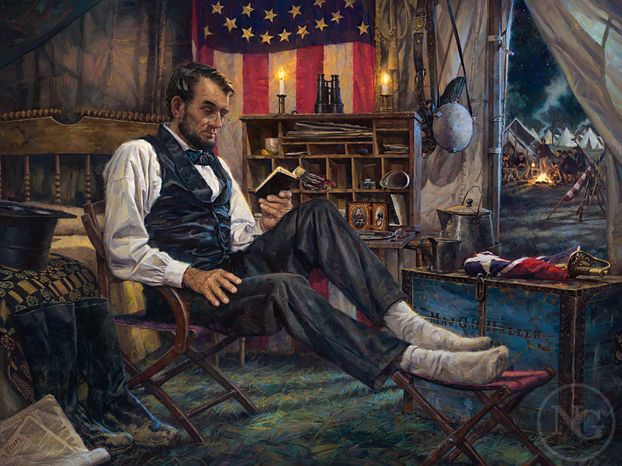 "In 1862 on this day ""Willie"" Lincoln recovered from a life-threatening condition caused by the consumption of contaminated water drawn from the Potomac River, along which thousands of soldiers and horses were camped. His younger brother Tad who had been similarly afflicted also pulled through."