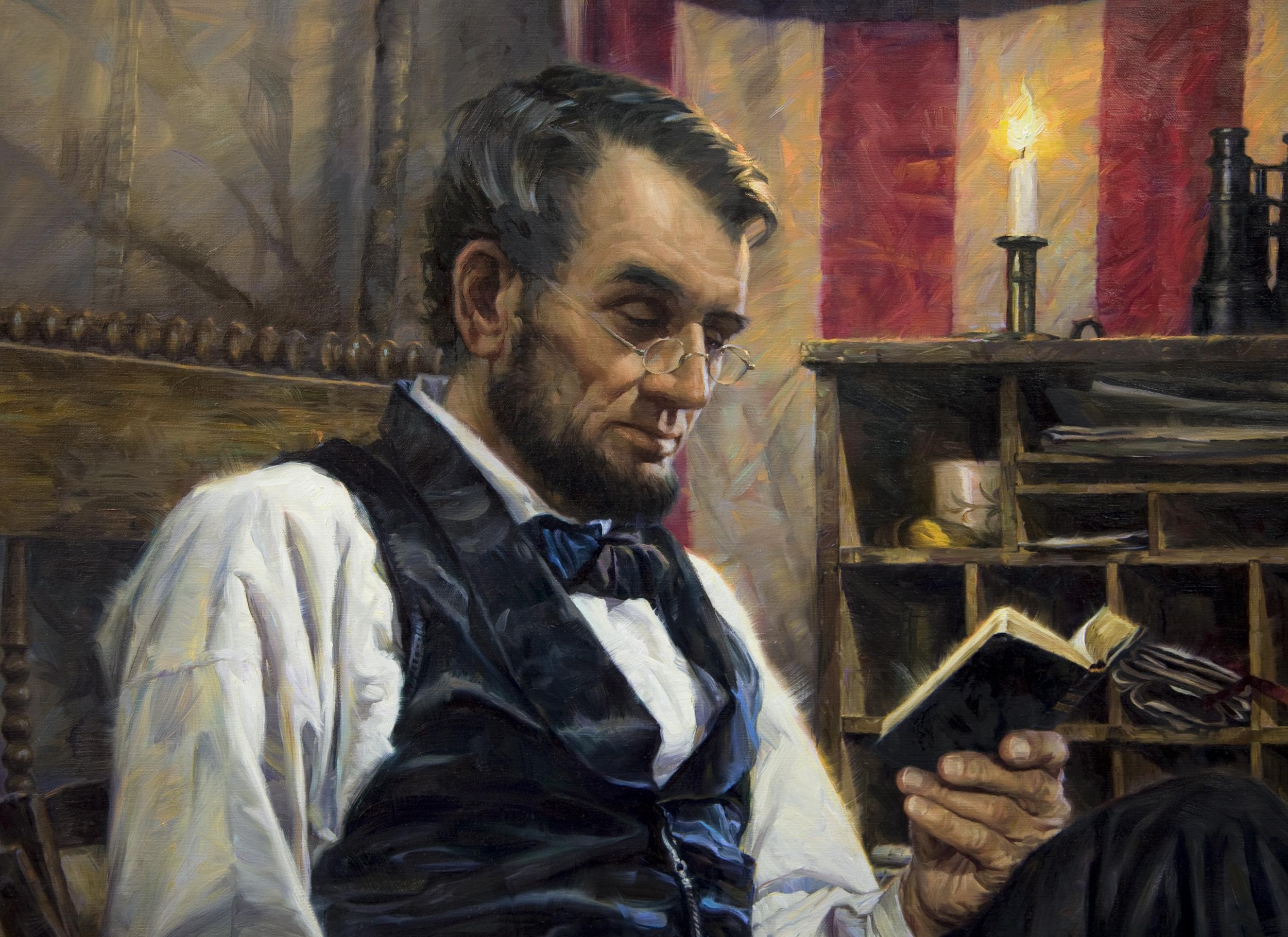 Abraham Lincoln Nathan Greene Studio